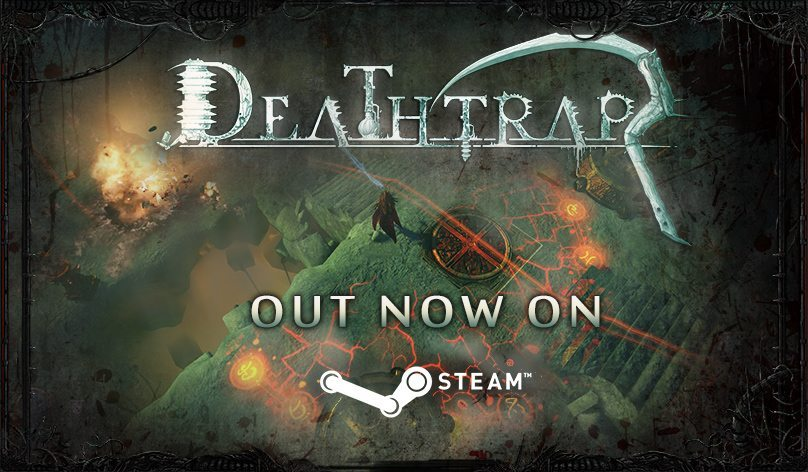 Deathtrap Out on Steam FI